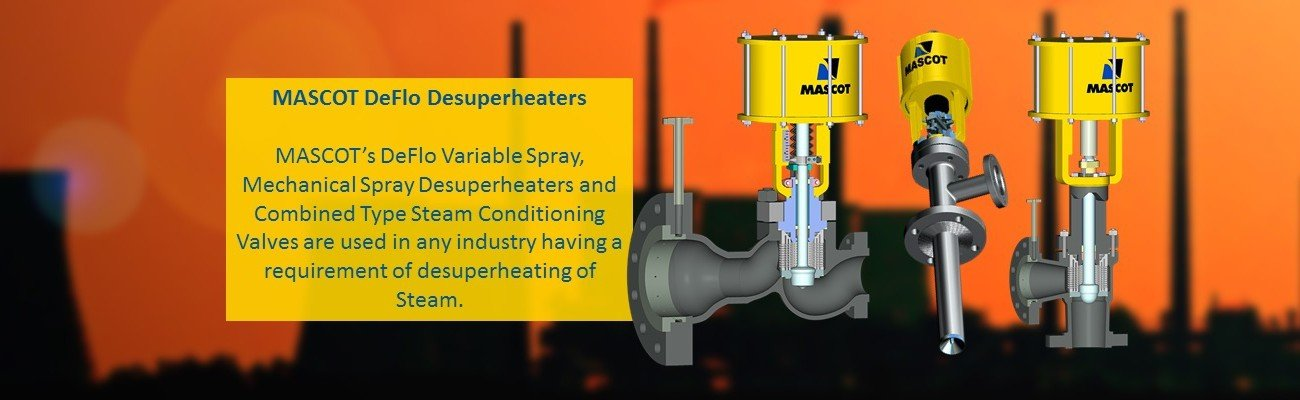 MASCOT - Manufacturer of Control Valves and Desuperheaters